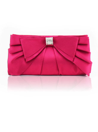 Charming/Girly/Pretty Satin Clutches/Evening Bags