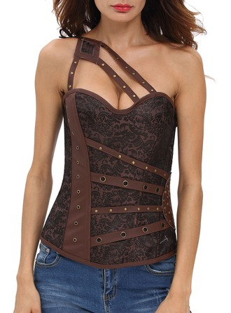 Polyester/Spandex Corsets