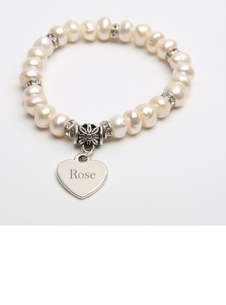 "Jewerly Pearl Classic Personalized 2.17"" (Approx.5.5cm) Gifts"