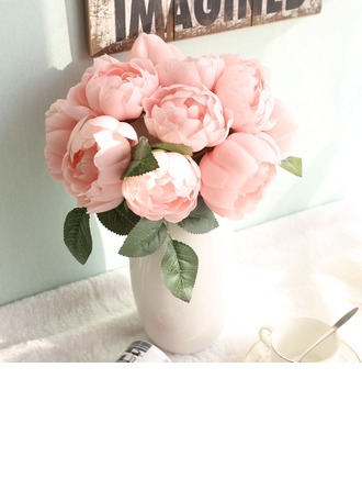 "10.63""(Approx.27cm) Rose Silk Bouquets"