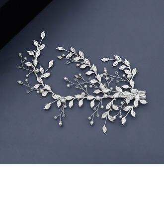 Damer Vakkert Rhinestone/Imitert Perle Hårnåler med Rhinestone/Venetianske Perle (Selges i ett stykke)