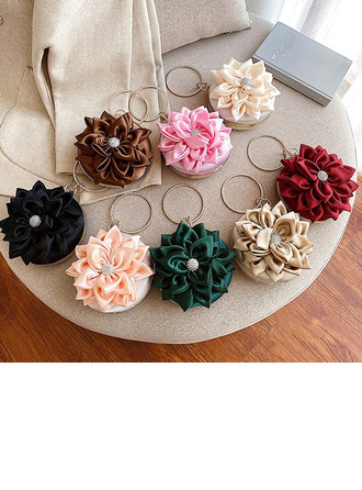 Gorgeous Suede Top Handle Bags
