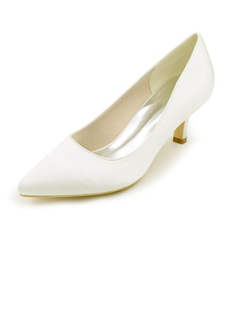 Kvinnor siden som satin Stilettklack Pumps