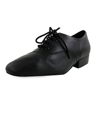 Kids' Real Leather Flats Latin Modern Ballroom Party Dance Shoes