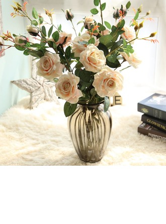 "34.25""(Approx.87cm) Rose Silk Bouquets"