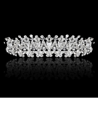 High Quality Crystal Rhinestone Alloy Tiaras