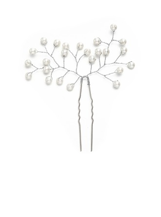 Ladies Classic Imitation Pearls Hairpins With Venetian Pearl (Sold in single piece)