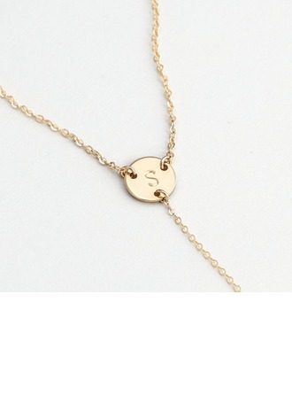 Personalized Ladies' Hottest 925 Sterling Silver Initial Necklaces For Mother/For Friends/For Couple