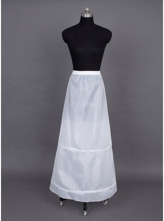 Women Nylon Floor-length 1 Tier  Petticoats