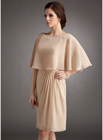 Half-Sleeve Chiffon Special Occasion Wrap