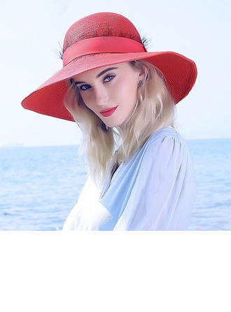 Ladies' Gorgeous/Fashion Raffia Straw Straw Hat/Beach/Sun Hats