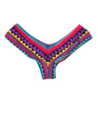Bohemian Lycra/Spandex Feminine/Fashion Swimming Trunks