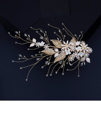 Ladies Beautiful Crystal/Rhinestone/Imitation Pearls Hairpins With Venetian Pearl/Crystal (Sold in single piece)