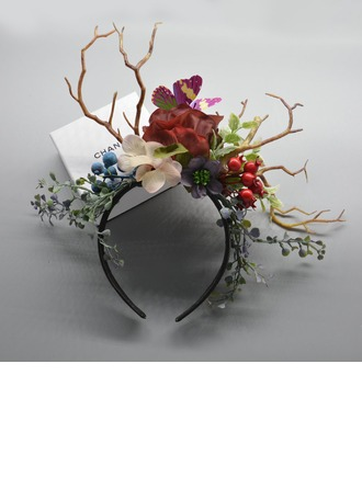 Child's Eye-catching/Charming Polyester/Fabric With Flower Fascinators/Kentucky Derby Hats