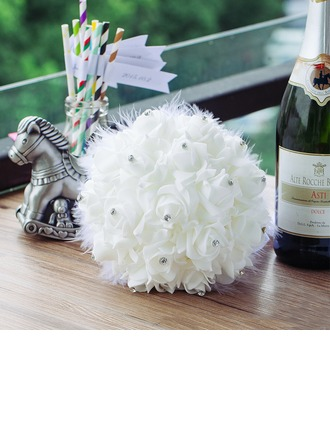 Sweet Round PE Bridal Bouquets