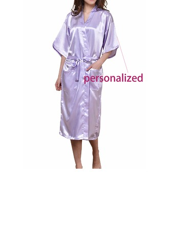Personalized Polyester Bridal Robe (20 letters or less)
