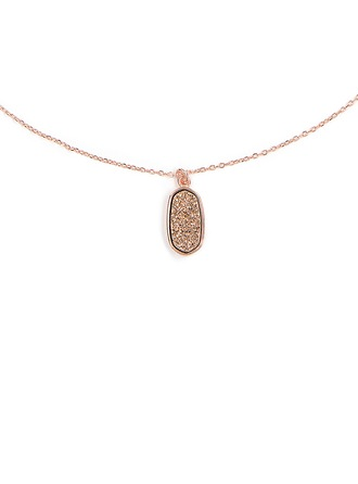 Silver Stone Pendant Necklace For Women For Girlfriend For Girl