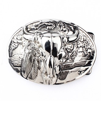 Classic Alloy Belt Buckle