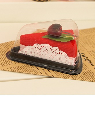 Bamboo Fiber Llovely Cherry Sandwitch Towel Wash Cloth Return Gift (Sold in a single piece)