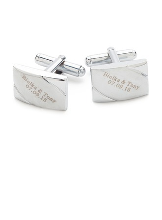 Personalized Classic Style Copper Cufflinks