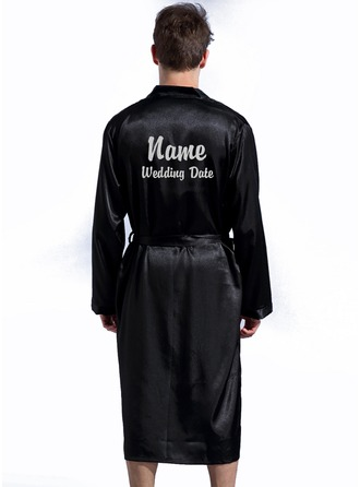 Personalized Polyester With Tea-Length Personalized Robes