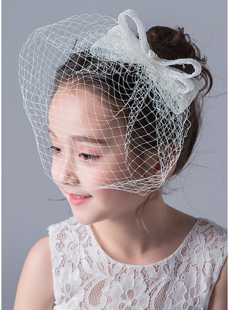 Lace With Imitation Pearls Hats