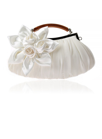 Elegant Silk Clutches/Top Handle Bags/Evening Bags