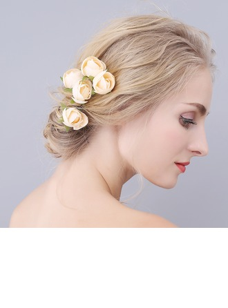 Romantic Cloth Hairpins (Set of 3)