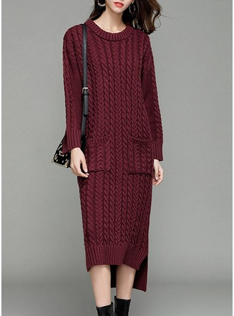 Knitting Asymmetrical Dress