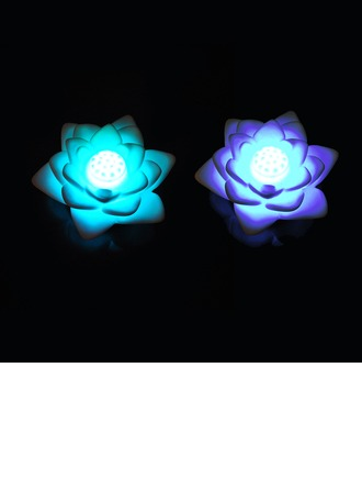 Color changing Lotus Vinyl LED Lights