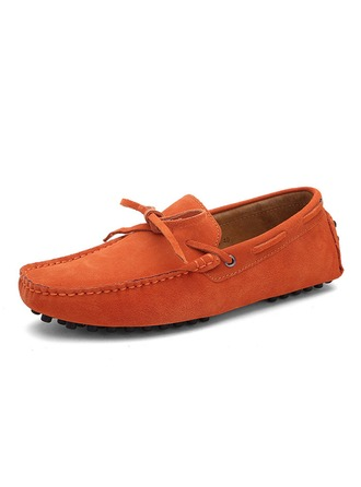 Men's Suede Boat Shoes Casual Men's Loafers