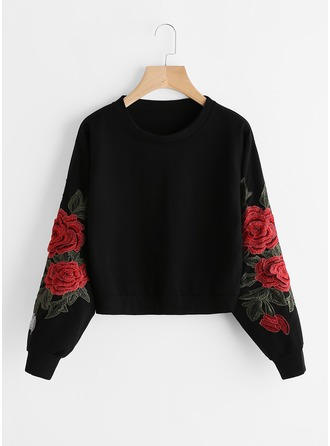 Embroidery Cotton Sweatshirt ()