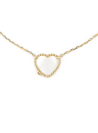 Silver Heart Pendant Necklace For Girlfriend
