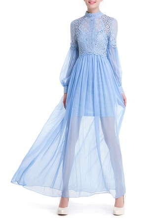 Lace/Chiffon With Two Pieces Dress