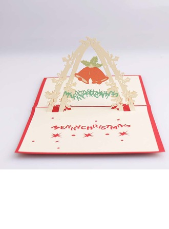 Three-dimensional Merry Christmas Greeting Cards