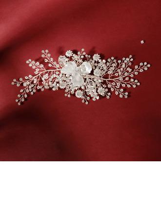 Damer Vakkert Rhinestone/Imitert Perle Pannebånd med Rhinestone/Venetianske Perle (Selges i ett stykke)