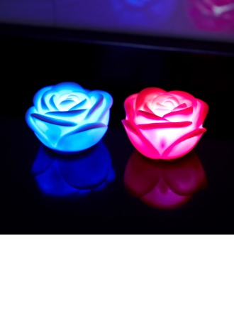 Color changing Rose shaped LED Lights