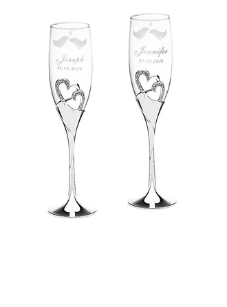 glass Classic Glass Aluminum (Set of 2) Personalized Gifts