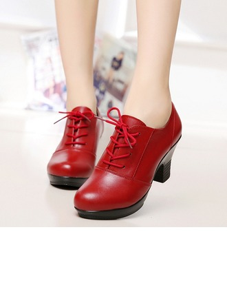 Women's Leatherette Pumps Swing Dance Shoes