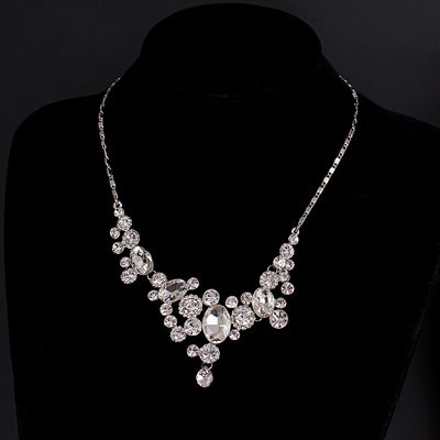 Gorgeous Alloy/Rhinestones Ladies' Necklaces