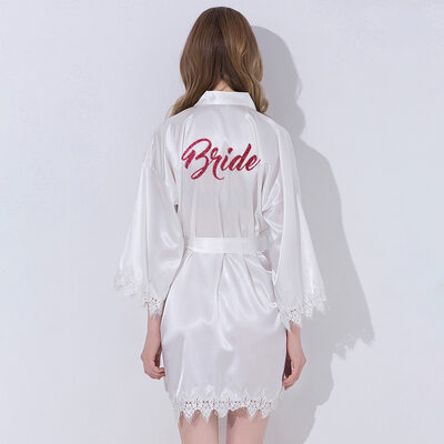 Bride Gifts - Classic Lace Robe