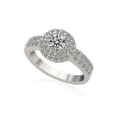 Bride Gifts - Elegant Zircon Ring