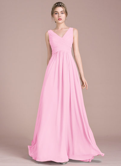Buy Cheap Candy Pink Bridesmaid Dresses | JJ\'sHouse