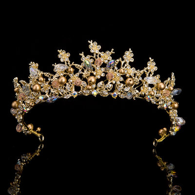 Ladies Exquisite Rhinestone Tiaras With Rhinestone