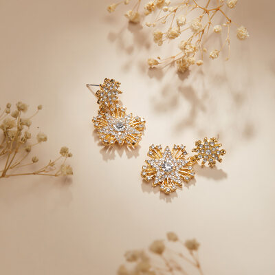 Beautiful Alloy Earrings