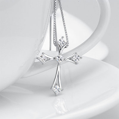Ladies' Elegant S925 Sliver Necklaces For Bride/For Bridesmaid/For Couple
