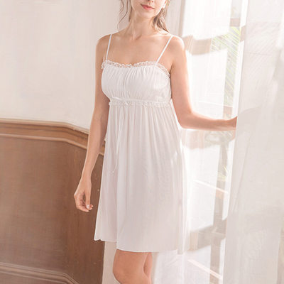 Bridal/Feminine Girly Cotton Sleepwear/Bridal Lingerie/Slips