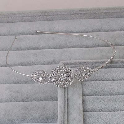 Ladies Special Rhinestone/Alloy Tiaras With Rhinestone