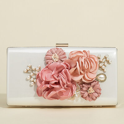 Elegant Satin Clutches/Wristlets/Satchel