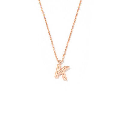 Personalized Ladies' Copper Initial Necklaces Necklaces For Her